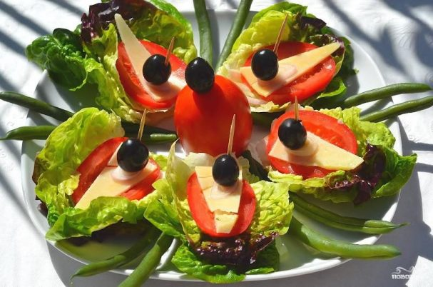 Салат-сендвич