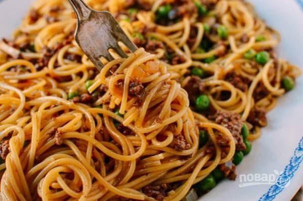 "Спагетти ""болоньезе"" по-китайски"