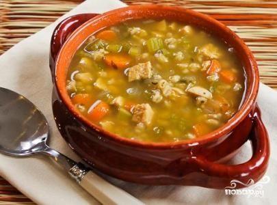 рецепт супа с перловкой в мультиварке
