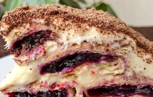 """Торт """"Монастырская изба"""" без выпечки"""