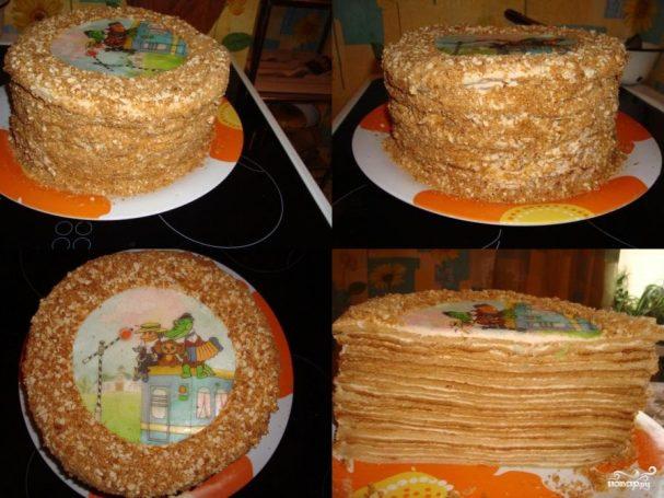 """Торт """"Пизанская башня"""""""