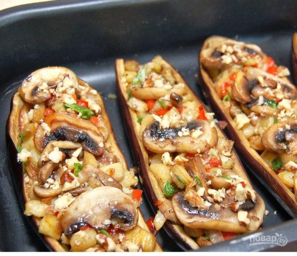 рецепт баклажан в духовке с фото