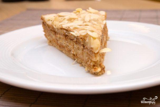 как приготовить торт крещатик