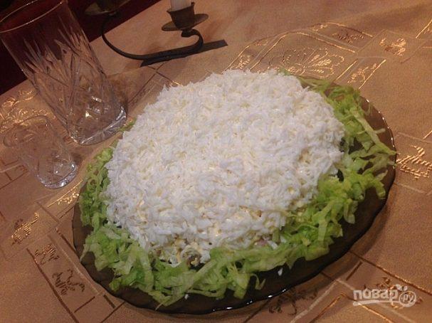 """Праздничный салат """"Невеста"""""""