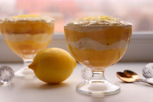 Лимонный тирамису