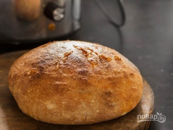 Домашний хлеб в мультиварке (быстрый рецепт)