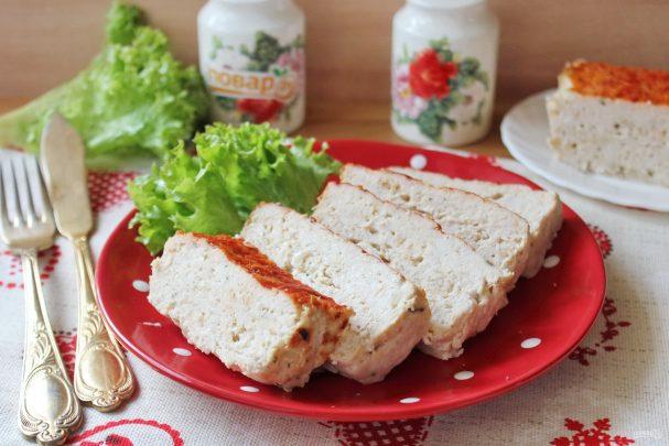 Мясной куриный хлеб