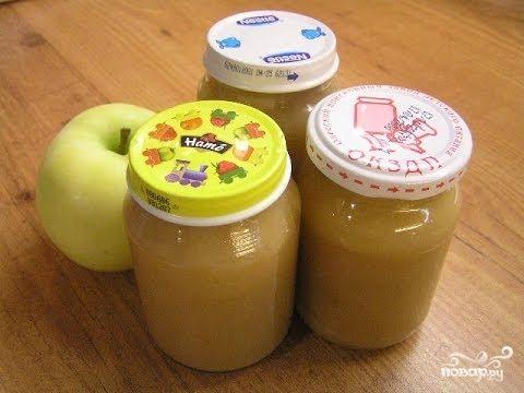 как приготовить яблучное пюре на зиму