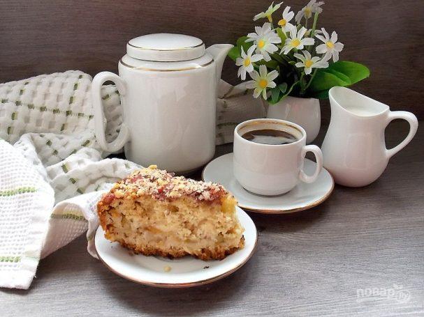 Фруктовый пирог на сметане