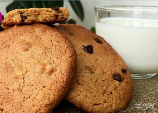 Очень вкусное печенье из арахисового масла