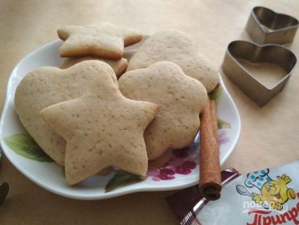 Коричное печенье на Новый год