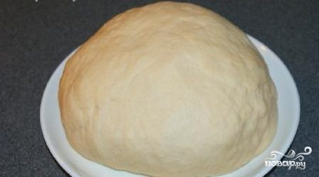 Тесто для пиццы без яиц
