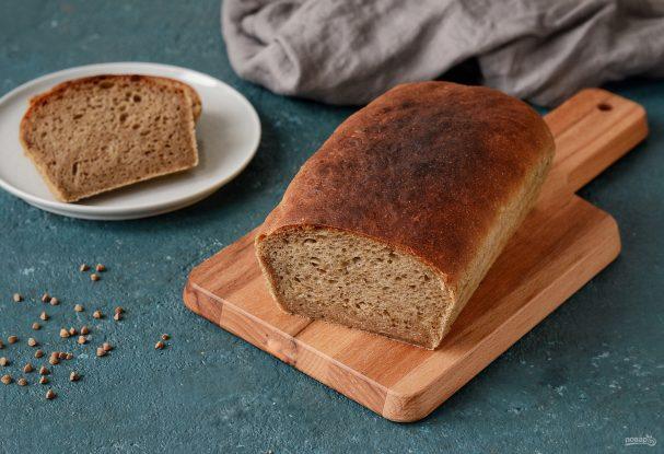 Гречневый хлеб в духовке
