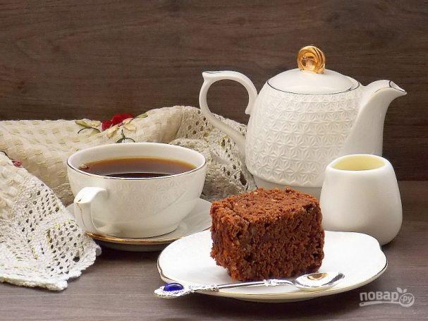 Простейший шоколадный пирог