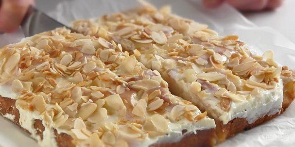 Нежнейший персиковый пирог