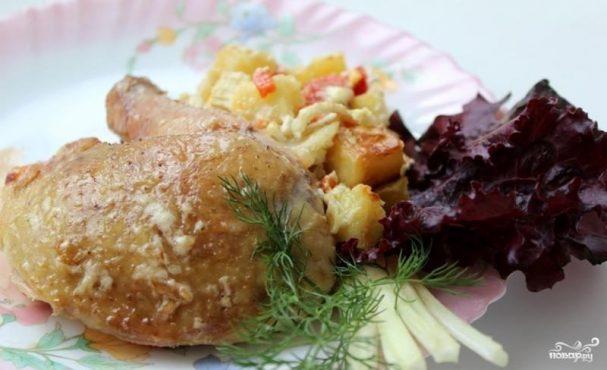 Курица с сельдереем