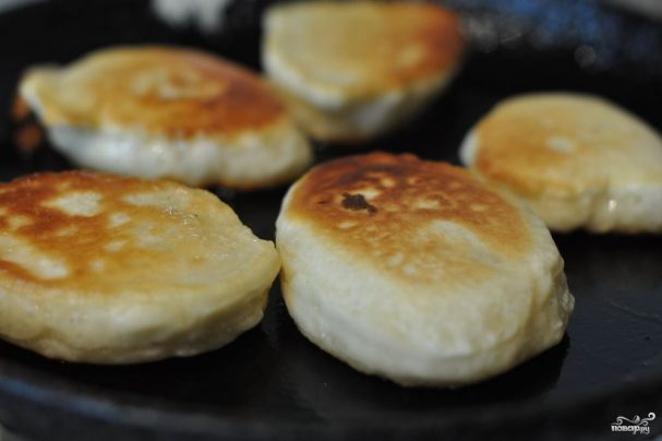 Дрожжевые оладушки - рецепт с фото на