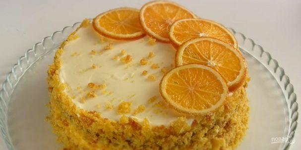 Тыквенный торт (простой рецепт)
