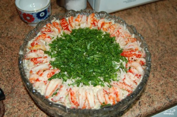 "Классический французский салат ""Оливье"""