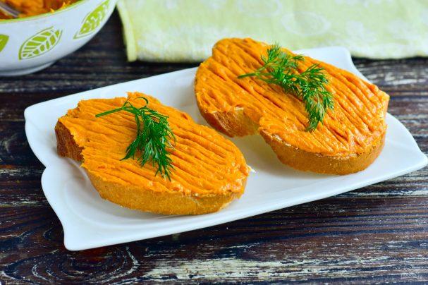Морковный паштет