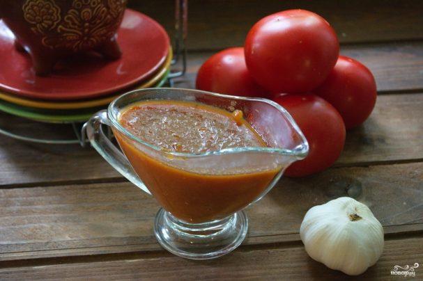 Кетчуп с луком на зиму