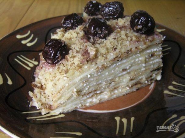 как приготовить торт от палыча