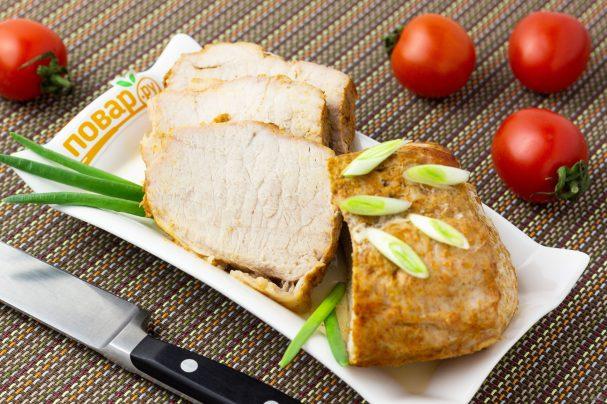 Запеченная свиная корейка