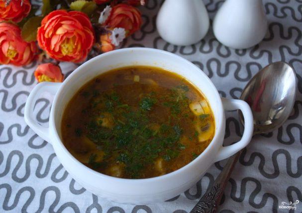Диетический грибной суп с шампиньонами - пошаговый рецепт с фото на