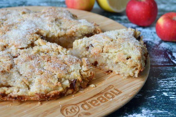 Яблочный пирог за 7 минут