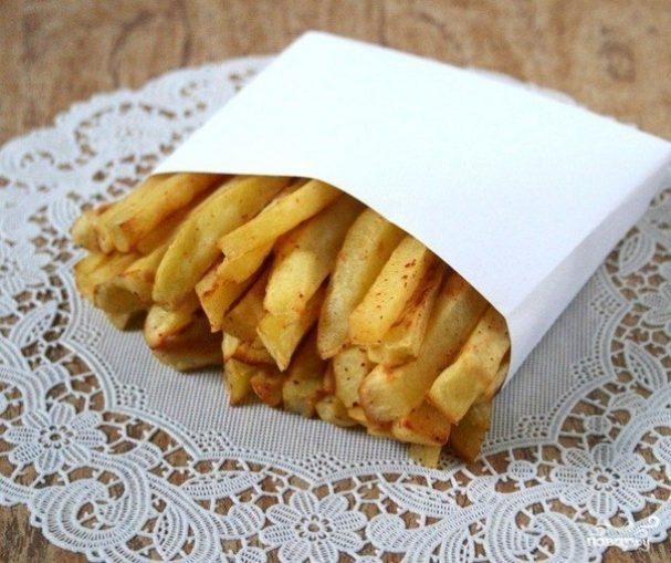 рецепт приготовления картошки фри