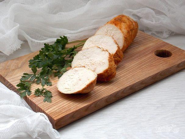 Бутербродная куриная грудка