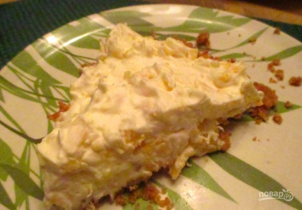 Рецепт ананасового пирога