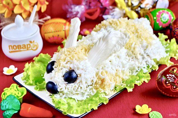 Салат Пасхальный кролик