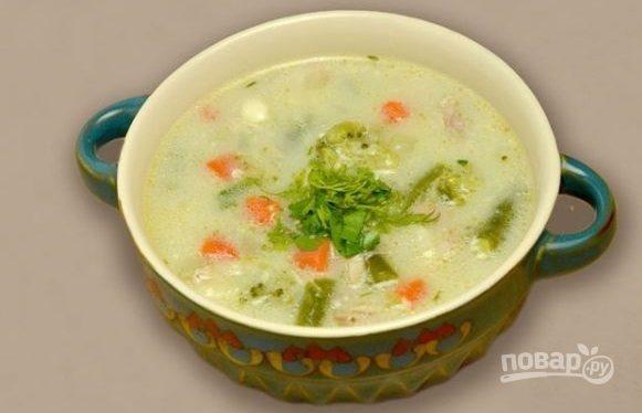 Суп из овощной смеси