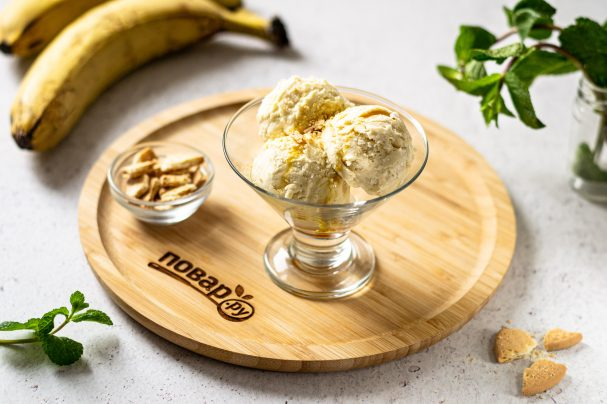 Мороженое из банана и кокосового молока
