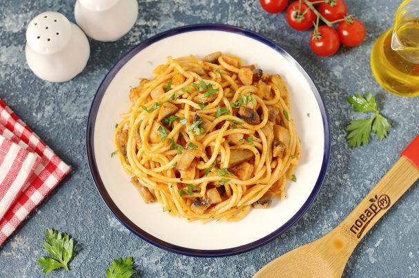 Спагетти по-милански