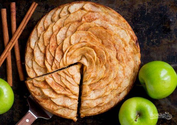 """Тарт """"Пион"""" с яблоком"""