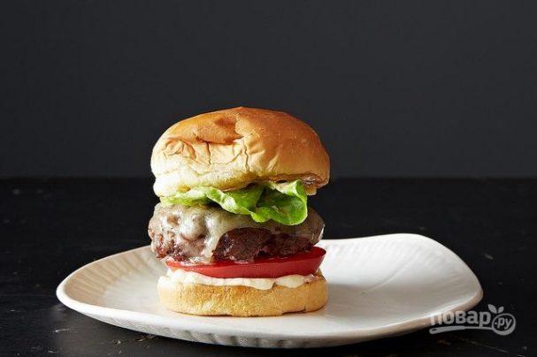 Домашние гамбургеры (простой рецепт)