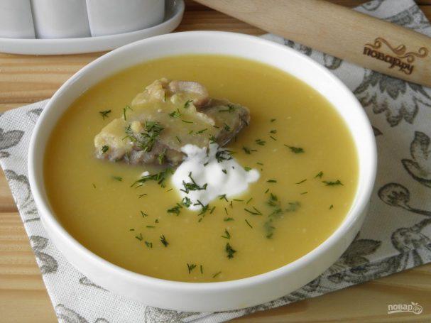 как быстро приготовить гороховый суп рецепт с свининой