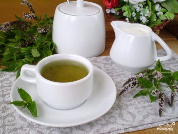 Чай с мятой для похудения