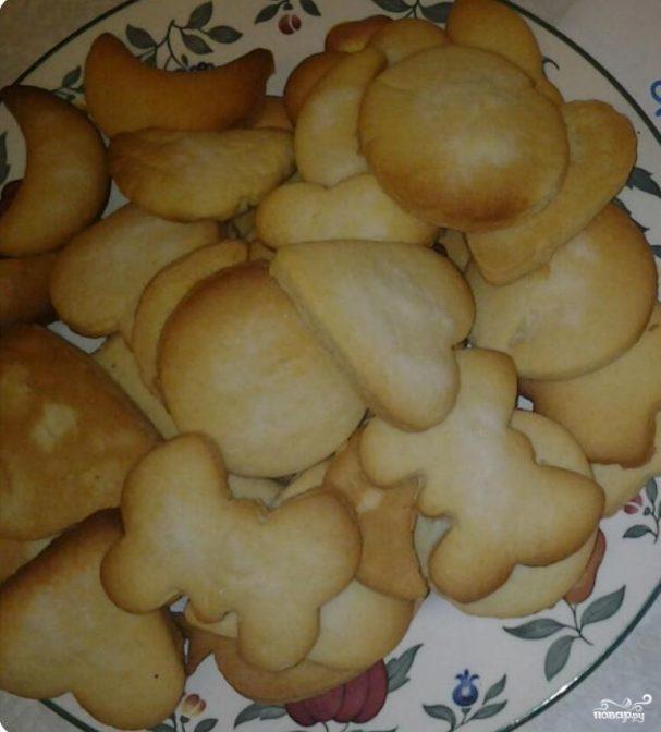 Печенья с формочками