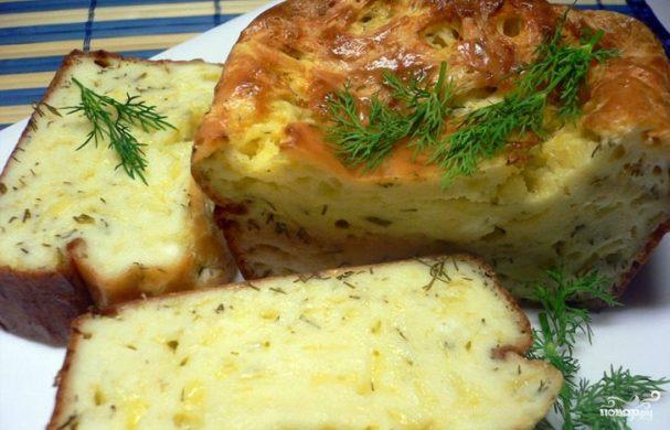 Рецепт сырный пирог фото — pic 7