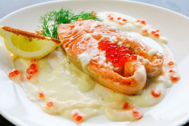 рецепт сливочного соуса к рыбе с фото