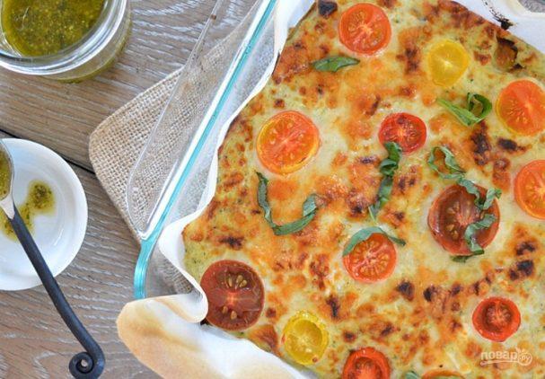 Вегетарианская лазанья из баклажанов