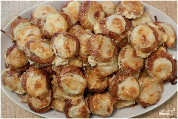 Баранки с фаршем - рецепт с фото на