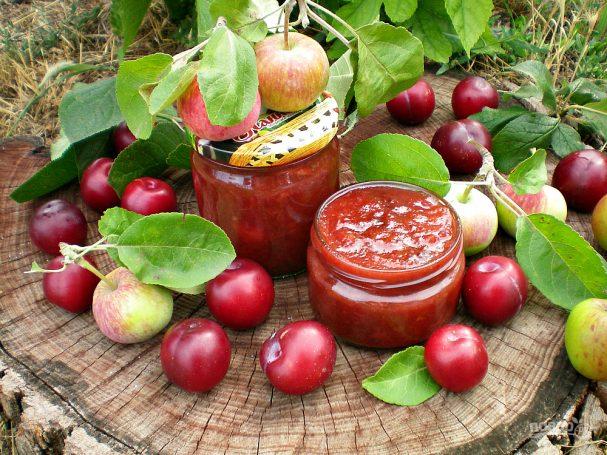 Яблочно-сливовое варенье