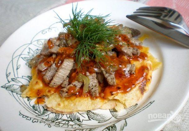 Искандер с мясом