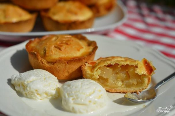 Пирожки с грушами