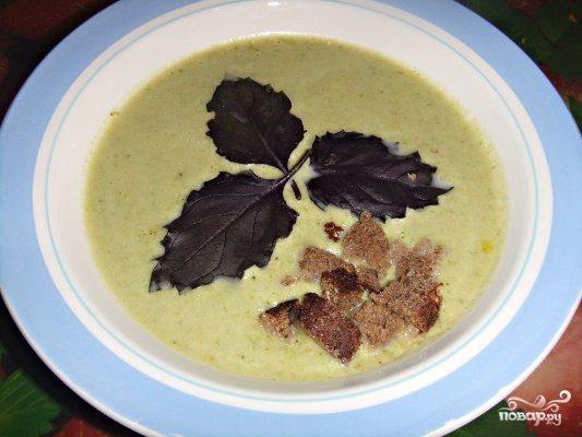 Крем-суп из брокколи в мультиварке