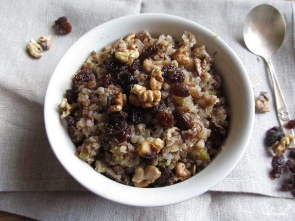 Гречневые мини-паски с сухофруктами – кулинарный рецепт